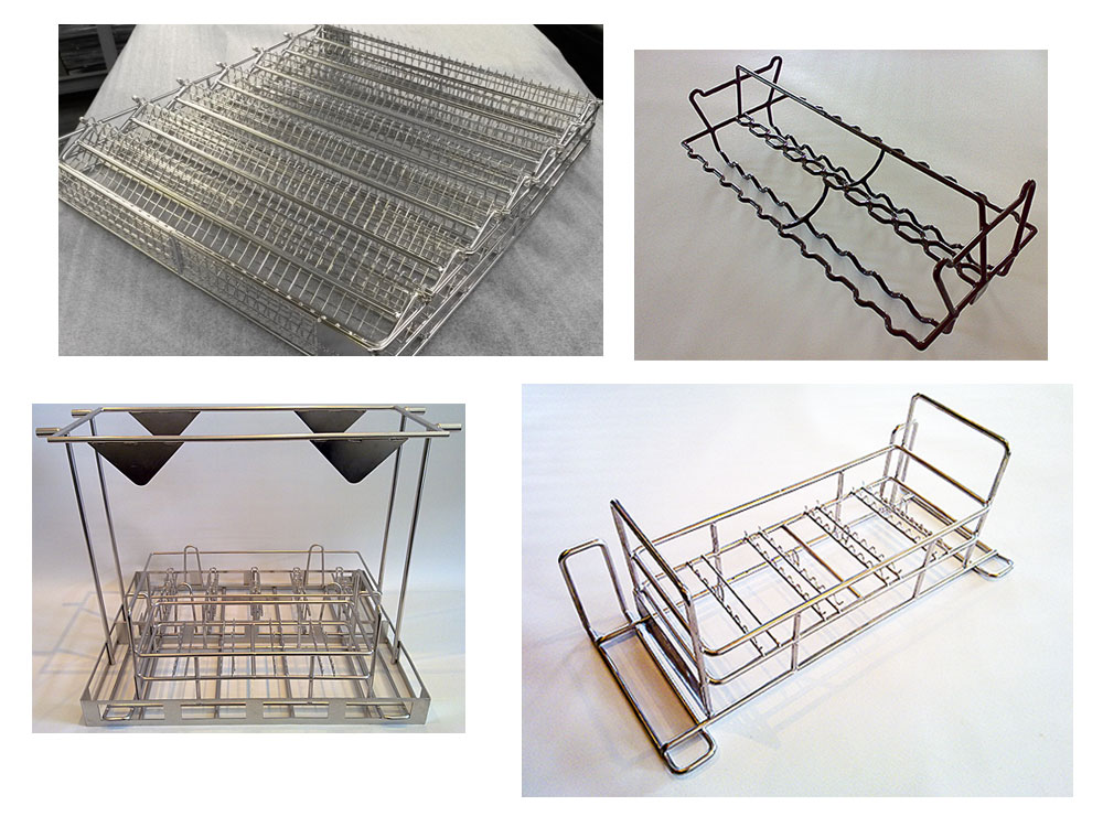 Dipping Baskets for Cleaning or Coating