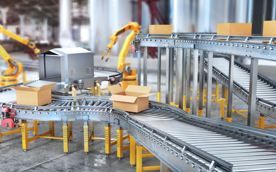 Conveyor belt systems for Manufacturing