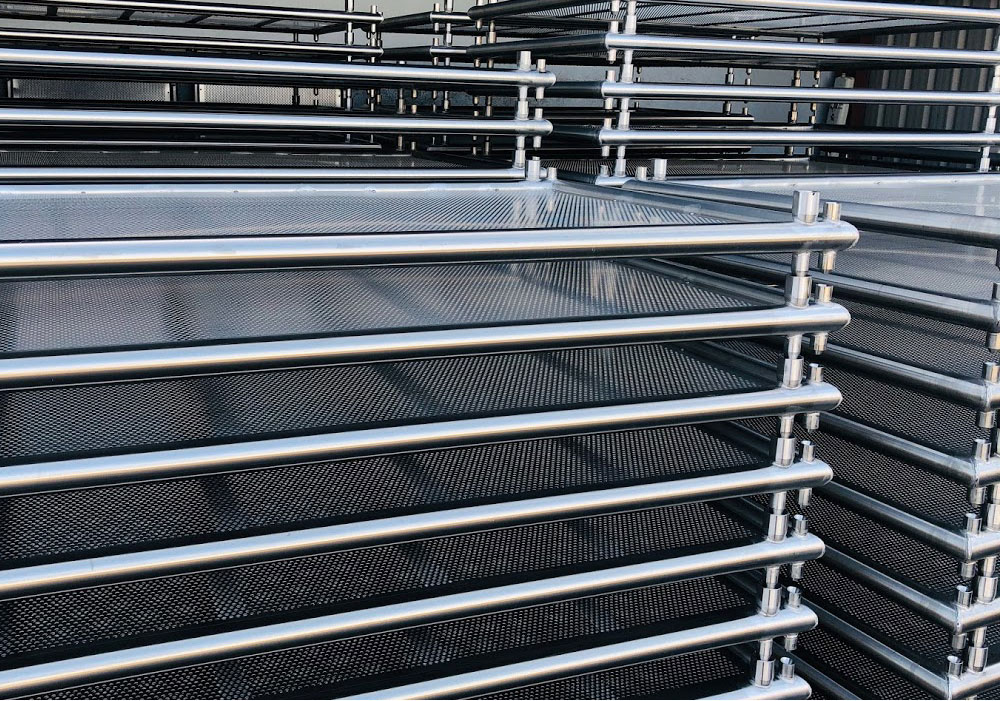 Stacked Pharmaceutical Product Trays