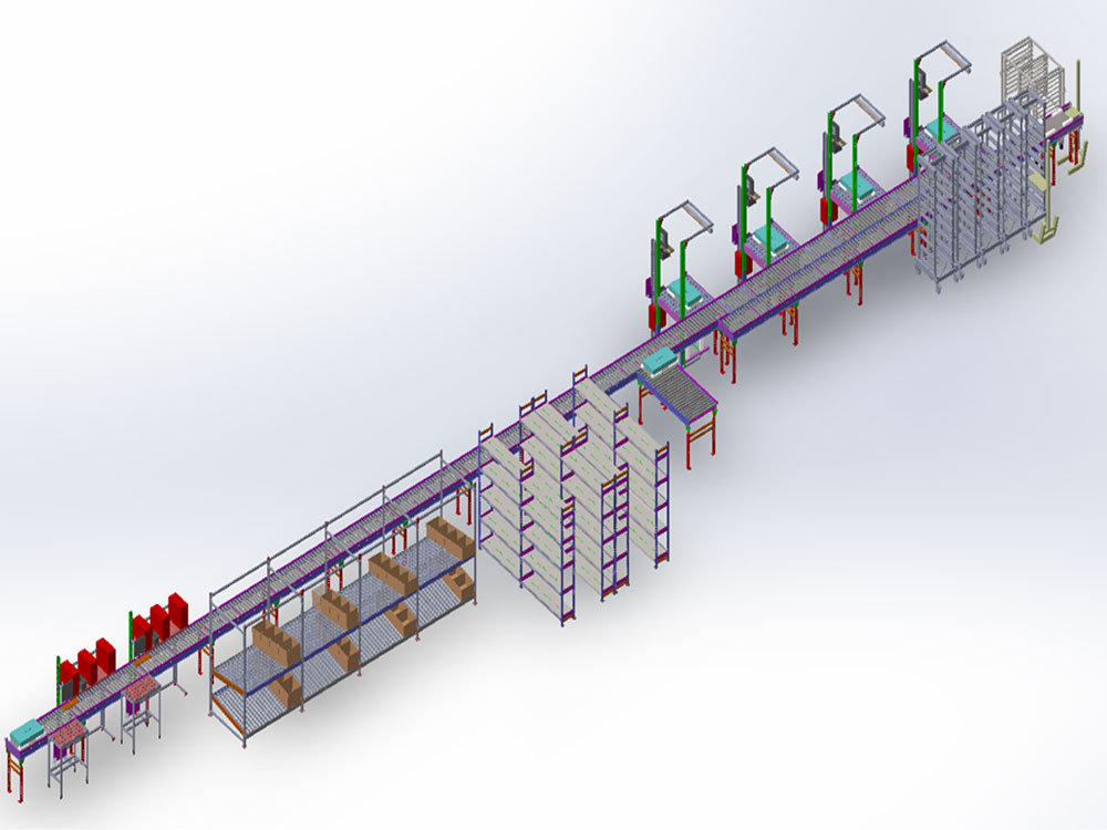 Multi-Station Conveyor System Installation