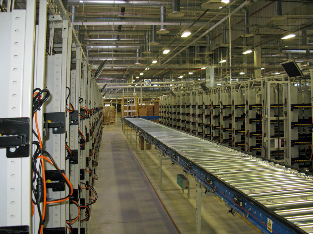 Powered Roller Conveyor Installation by NGS Industrial