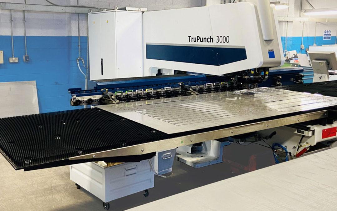 New CNC Punching Machine